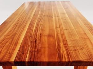 Tisch Amerikanischer Nussbaum massiv geölt mit Tungöl wasserfest, gefirnistz, Speisetisch, Esstisch, Speisezimmertisch, klassisches Design
