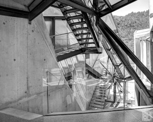 Domenig Steinhaus Ossiachersee interior inside