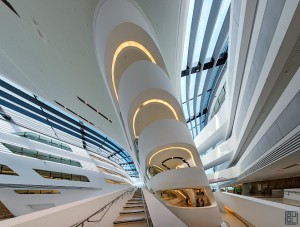 Zaha Hadid LC WU Vienna learning center Wien architecture architektur