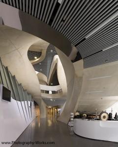 mumuth graz entry area eingangsbereich Uni Graz, Baudokumentation, Architektur, Innenarchitektur
