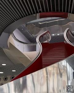mumuth graz museum für musik und musiktheater berkel bros un studio stair detail