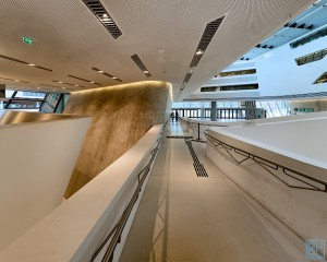 Zaha Hadid, learning center , WU, LC, Vienna, Wien, Baudokumentation, Fotograf