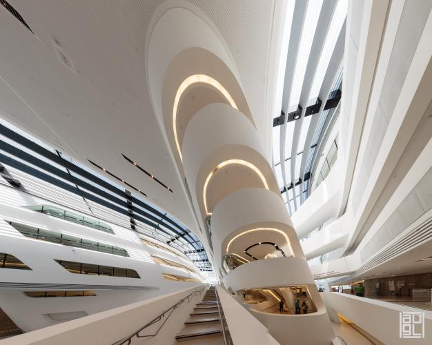 hadid zaha architects, LC, WU, Wirtschaftsuniversität Wien,  Vienna, Baudokumentation